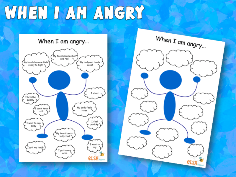 when i am angry