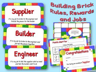 building brick rules