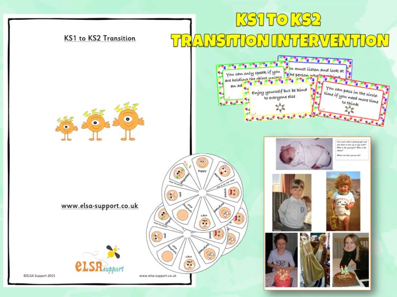 KS1 to KS2 transition intervention