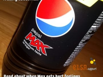 Max A story about hurt feelings