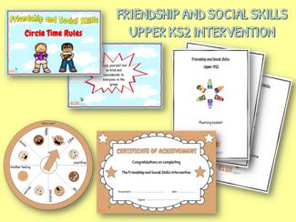 friendship and social skills upper KS2