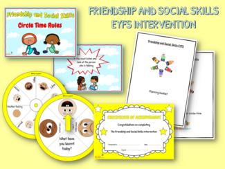 Friendship and social skills EYFS