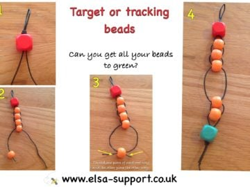Target or tracking counting Beads