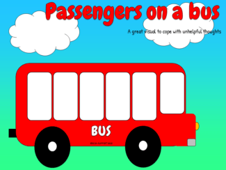 passengers on a bus
