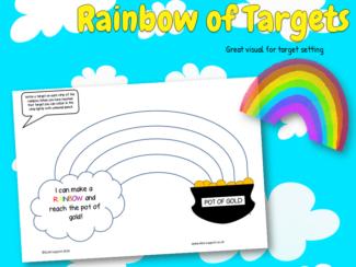 Rainbow targets
