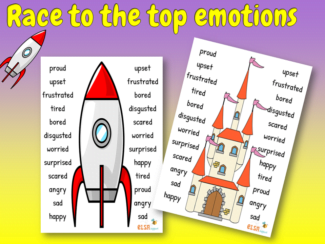 Race to the top emotions
