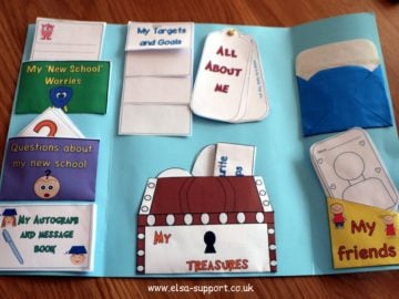 Transition to another school or class Lapbook