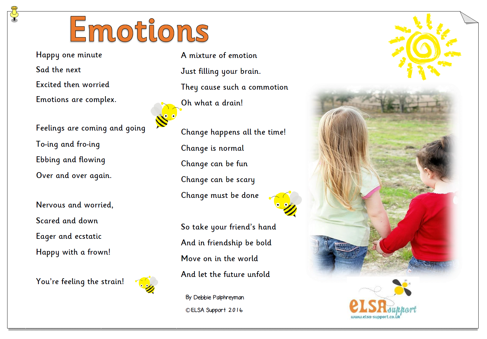 Feelings And Emotions Poems