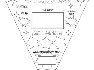 Bunting Transition activity