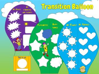 Transition balloon