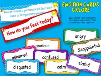 emotion cards galore