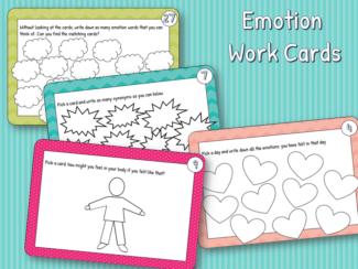 emotion work cards