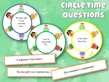 Circle Time Questions