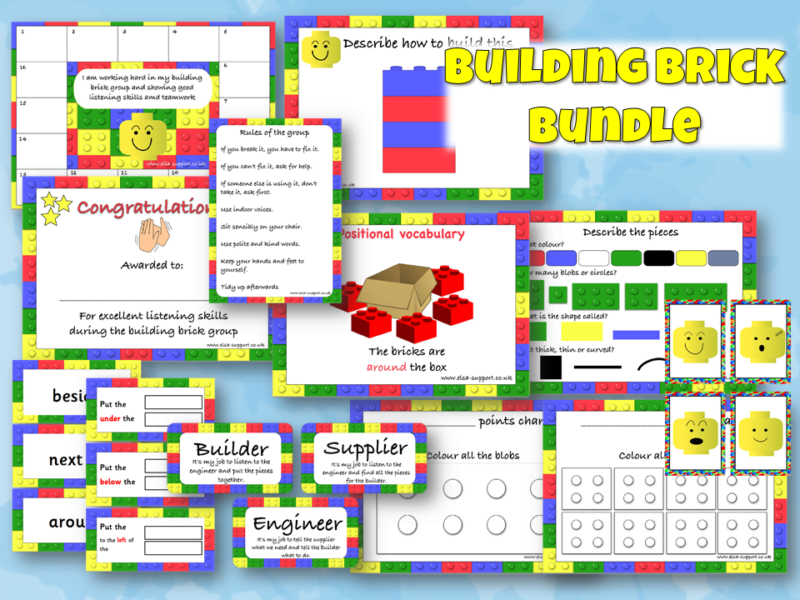 Building Brick Therapy Bundle