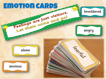 Emotion cards galore