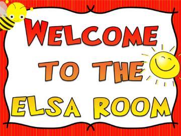 ELSA Room Signs