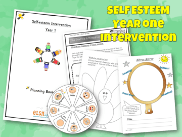 Self esteem intervention Year One