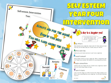 Self esteem intervention Year Four