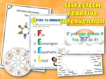 Self Esteem Intervention Year five