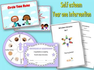 self esteem intervention year one