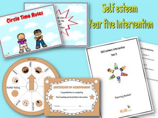 self esteem intervention year five