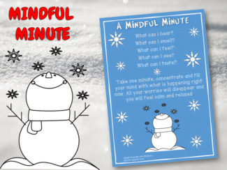 mindful minute exercise