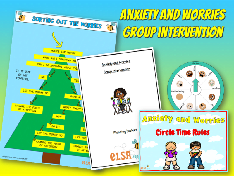 Anxiety and worries group