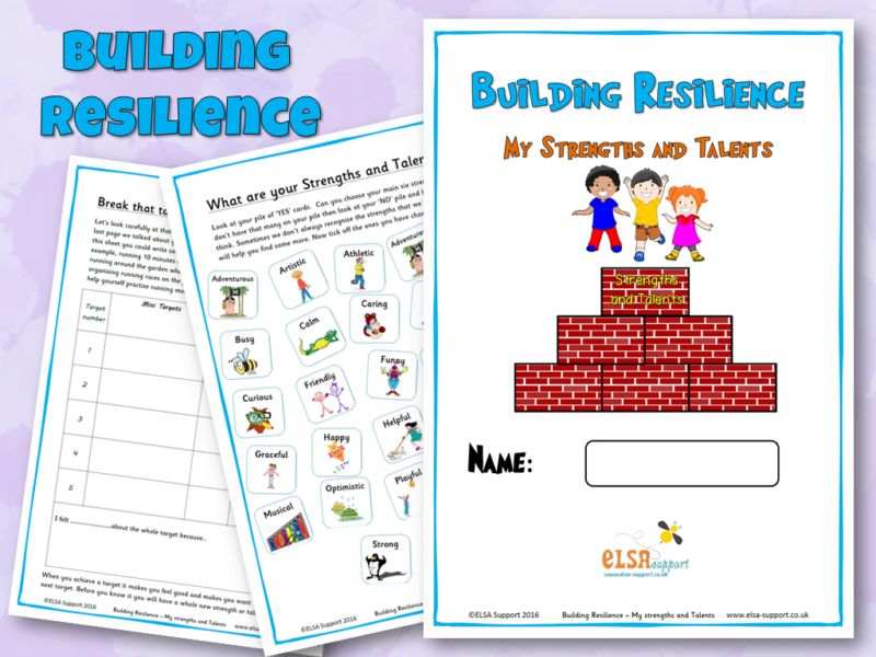 Building Resilience Strengths Talents