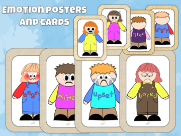 Emotion Cards and Emotion Posters
