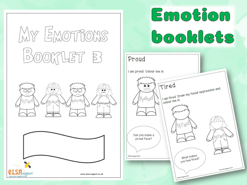 Emotions Booklets