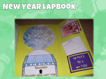 New Year Lapbook
