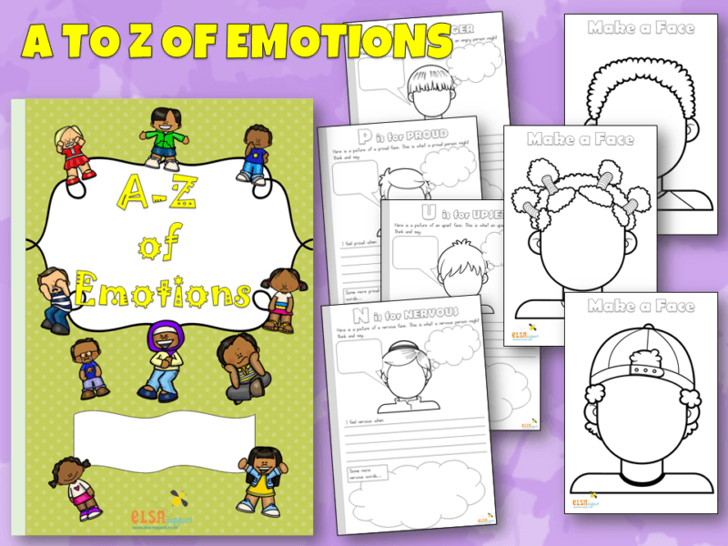 A to Z of emotions