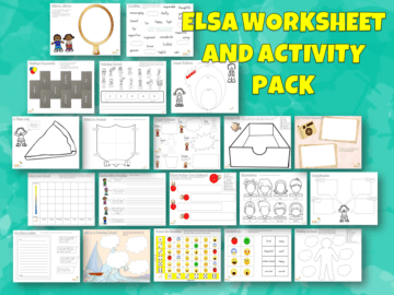 ELSA Worksheet and Activity Pack