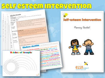 Self Esteem Intervention Pack