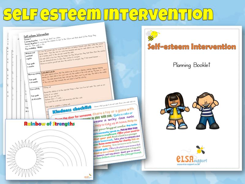 Self Esteem Intervention Pack