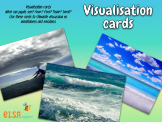mindfulness visualisation cards