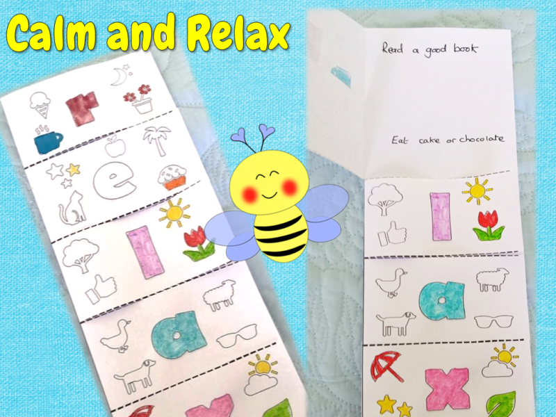 calm and relax booklets