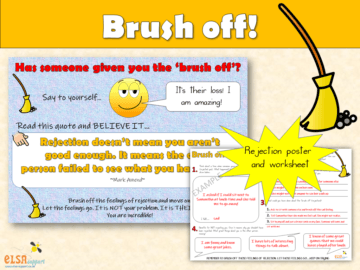 Brush off - coping with rejection