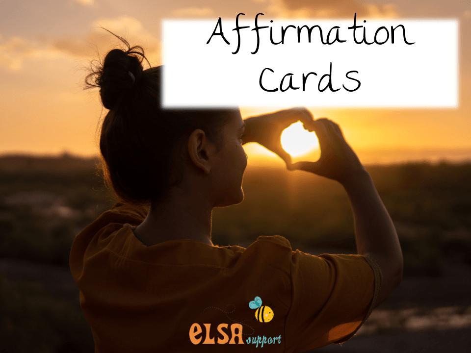 Affirmation cards - ELSA Support