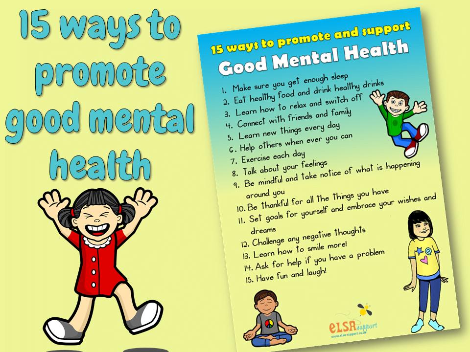 15 Ways to Good Mental Health - ELSA Support