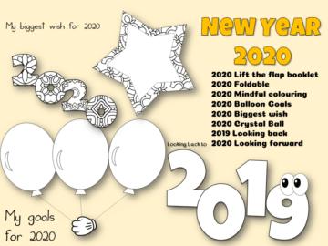 New year 2020 Free Resource Pack