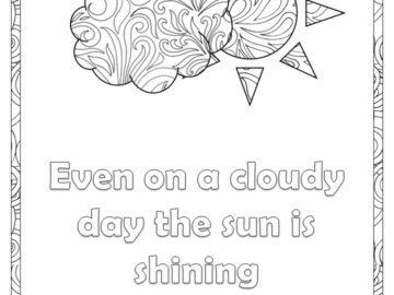 Sunny quote - Mindful Monday