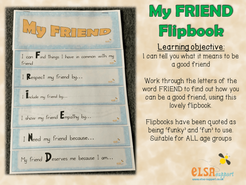 My friend flipbook