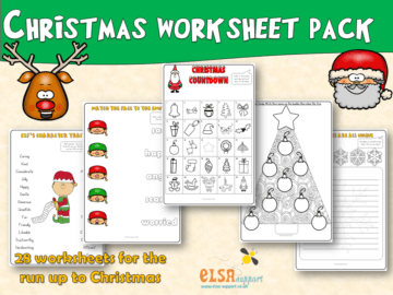 Christmas worksheet pack