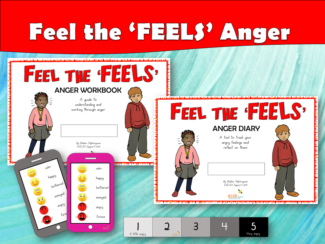 Feel the FEELS Anger Workbook and Diary
