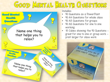 Good Mental Health Questions