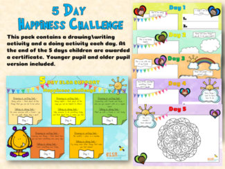 ELSA Support 5 day Happiness Challenge