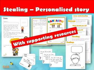 Stealing - Personalised Story