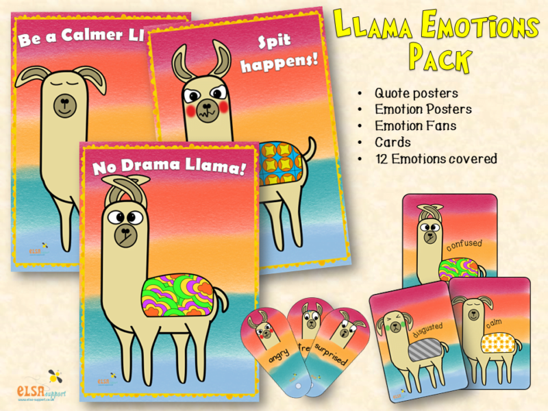 Llama Emotions Pack
