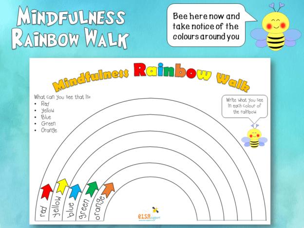 Mindfulness Rainbow Walk
